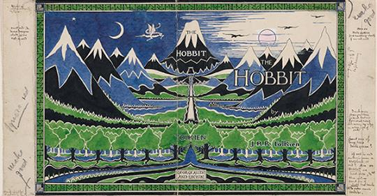 Tolkien Exhibition Opens At Oxford University