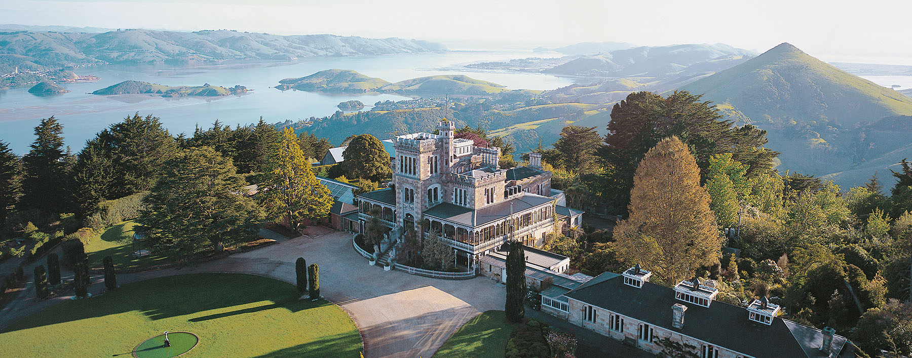 History, wildlife, gardens and castles – A Dunedin and Otago Peninsular road trip