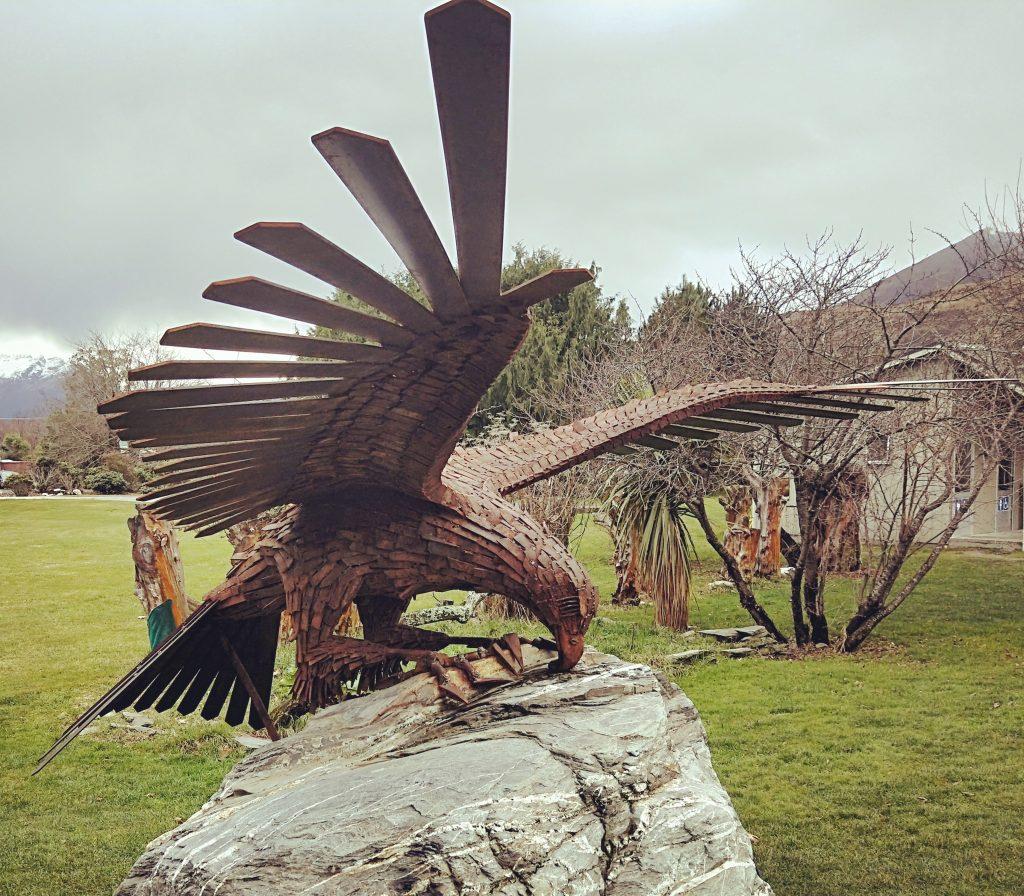 Haast Eagle Sculpture