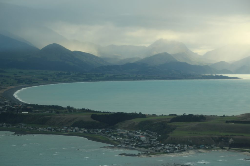 Flightseeing above Kaikoura