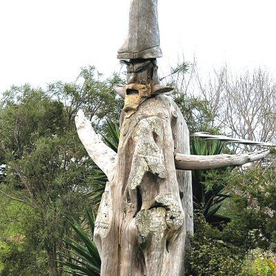 An Ent? A wizard? Did J.R.R.Tolkien create this sculpture?